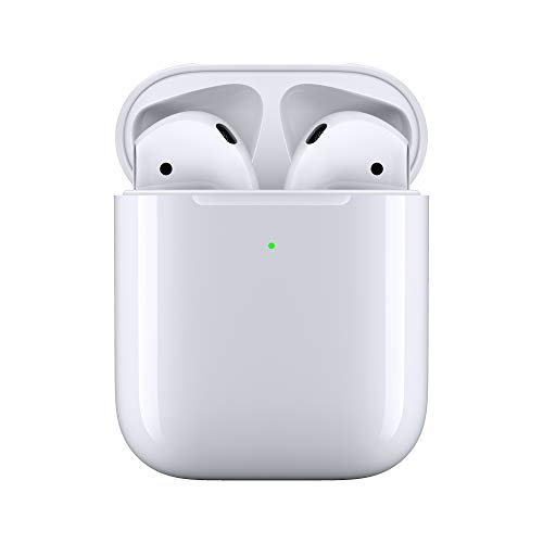 Apple AirPods con estuche de carga inalámbrica...