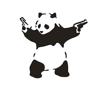 Nettes Spielen Panda Graphic Autoaufkleber LKW Windows-Dekor-Abziehbild-Aufkleber Werkzeugkästen Laptops Aufkleber