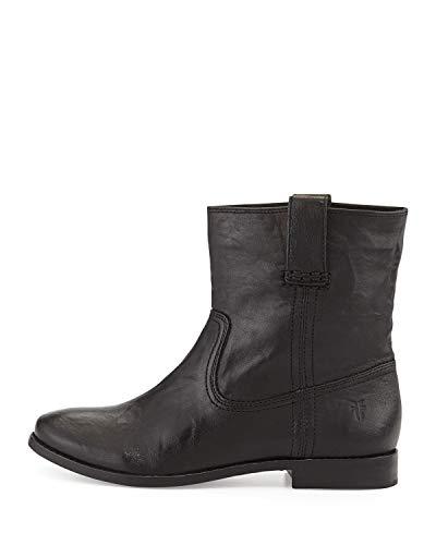 FRYE Womens Anna Short Leather Round Toe