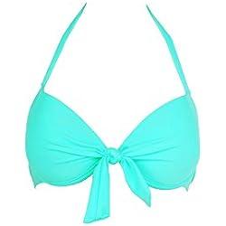 Mon Push-up Bikini vert émeraude (Haut) - XL