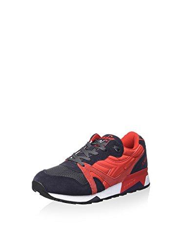 diadora N9000 NYL II Schuhe Sneaker Turnschuhe Rot 501.170941 01 C6271 Schwarz