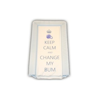 Preisvergleich Produktbild Wickelunterlage / Auflage, mit Aufschrift in englischer Sprache: Keep Calm