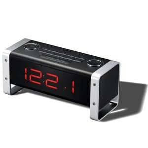 Radio réveil MP3 caméra HD 720p détection de mouvement