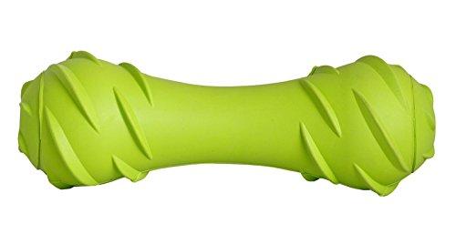 headsupfurtail-tlc-gummi-squeak-starke-welpen-zahnen-barbell-hundespielzeug