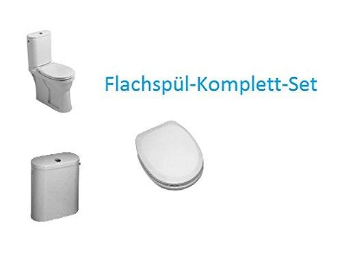 Laufen Object Stand-WC-Komplett-Set Flachspüler