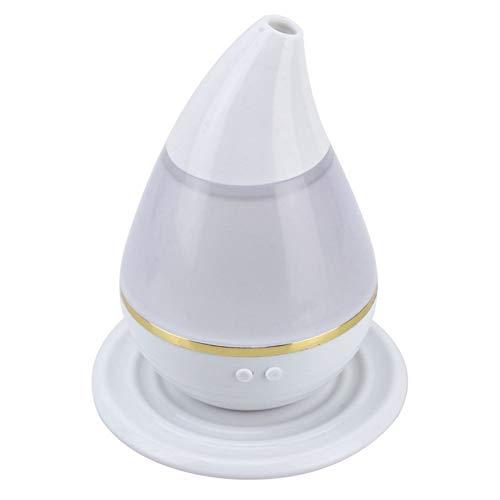 MIANQIANFQ Auto Luftreiniger Auto Mini Lufterfrischer Luftbefeuchter Ultraschall USB Luftbefeuchter LuftreinigerLED Licht Aroma Zerstäuber, grau
