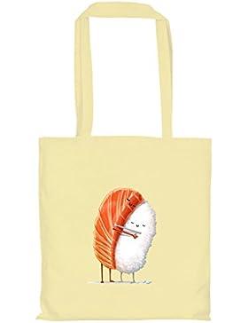 Texlab–Sushi Love–sacchetto di stoffa