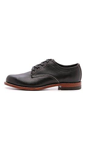 Wolverine Mens Shoe 1000 Mile Oxford Black *