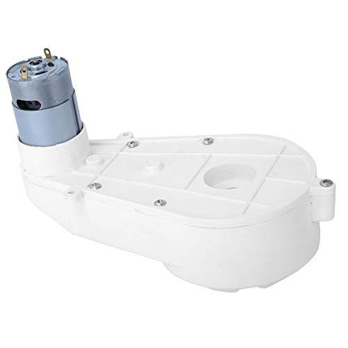 Drehmomentstarke Spielzeug Elektrofahrzeug Motor Getriebe Drehzahlreduzierung Motor mit Getriebemotor für Kinderwagen Fahrzeug ATV Motorrad(12V550-8000rpm) (Atv Motor Teile)