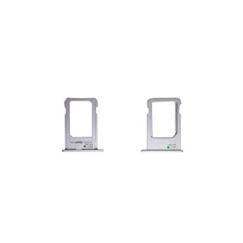 FONFON Micro Carte SIM Plateau Porteur de Carte de la Fente pour Apple iPhone Se Argent