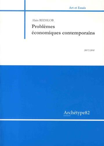 Problèmes économiques contemporains par Alain Redslob