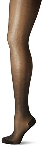 KUNERT Damen Strumpfhose Cotton Sole 309800,Schwarz (Black 0500), Gr. 44/46 - Spitze Nylon Stockings