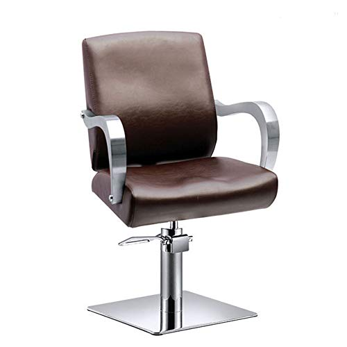 Professionale barbershop parrucchiere poltrona reclinabile in salone beauty shaving swivel con altezza regolabile sollevamento sedile integrato nel poggiapiedi