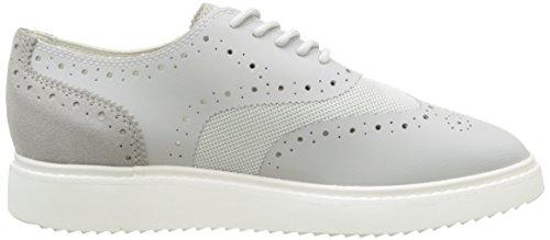 Geox Damen D Thymar B Sneakers Grau (lt Greyc1010)