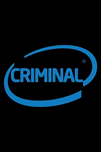 Criminal: Notebook | Journal | Diary | 110 Lined pages