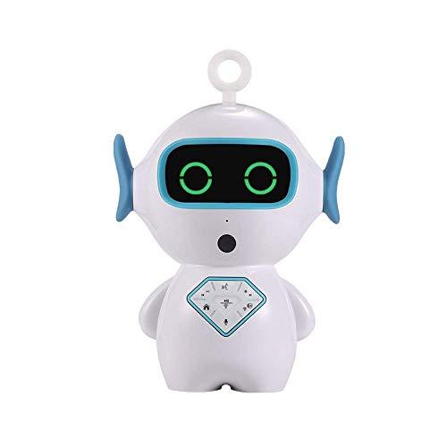 Fliyeong Pädagogischer Assistent Intelligente Sprachgeschichte AI Robot Toy mit Kamera für Kinder Intelligenter Frühförderer Sprachdialog Lernen Intelligenter Mensch-Maschine-Dialog Hohe Qualität