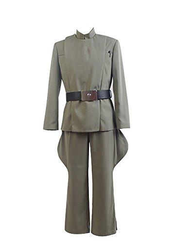 Star Wars Imperialen Offizier Arme Cosplay Kostüm Uniform Olivgrün (Armee Männer Kostüme)