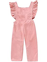 Toby Tiger Baby M/ädchen Overall Squirrel Cord Dungarees