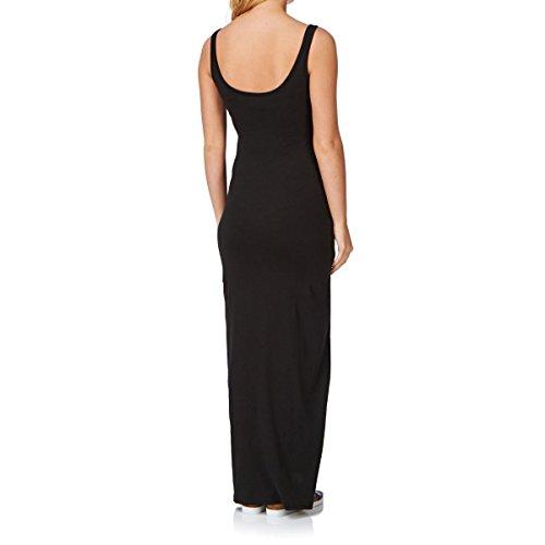 VERO MODA Damen Maxi Kleid Noir (Black/Solid)