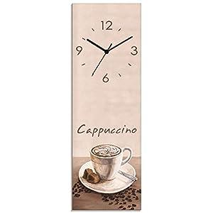 /Ø 28 cm perla pd design Wanduhr K/üchenuhr Vintage Design Espresso ca