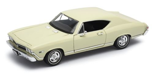 welly-chevrolet-chevelle-1968-cream-car