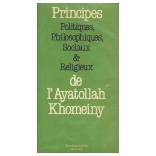 Principes politiques, philosophiques, sociaux et religieux