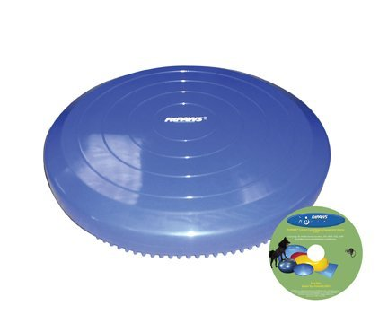 Ball Dynamics FPAWSBD 14 FitPAWS Balance Scheibe mit Lehr-DVD, 36 cm, blau