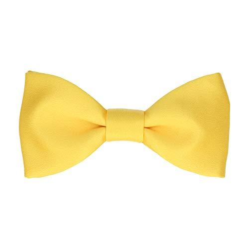 Mrs Bow Tie Classic Fliege, Selbstbinde Fliege - Gelb