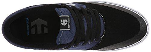 Etnies MARANA VULC Herren Skateboardschuhe Black (Schwarz / Blau)