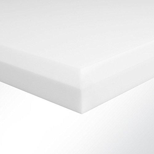 Basotect Schall-Absorber Decorschaumstoff Melaminharz Schaum Schalldämmung Schallschutz Raumakustik 100x50x5cm Weiß