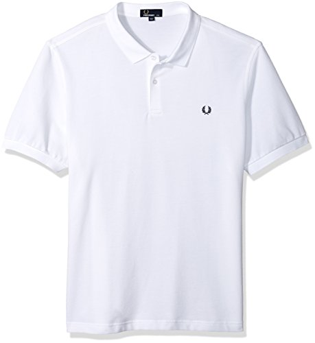 Fred perry uomo camicia di polo slim fit pianura xxxl bianco