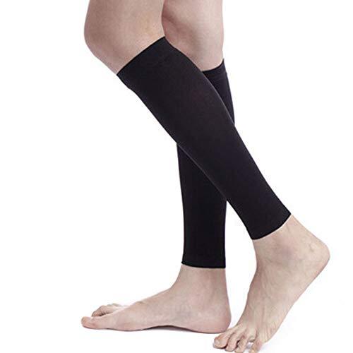 PBFONE Kompressionsstrümpfe, Waden-Kompressionsstrümpfe, 30-40 mmHg, für Männer und Frauen, ohne Fuß, Waden, Kompressionsärmel, Krampfadern