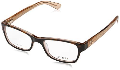 Guess Unisex-Erwachsene GU2591 056 50 Brillengestelle, Braun (Avana) - Frames Guess Brille