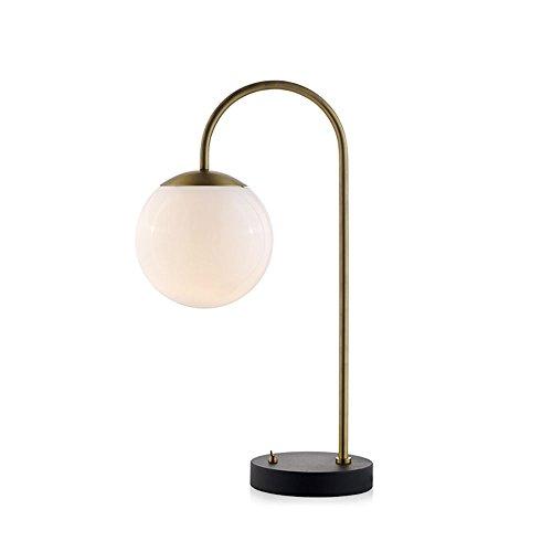 CAICOLOR Persönlichkeit Ball Nordic Einfache Post Moderne Wohnzimmer Studie Hotel Tischlampe (Farbe : Gold) (Klassische 4-licht-post)