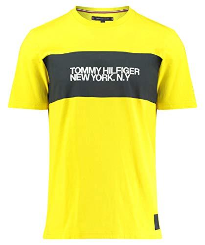 Tommy Hilfiger Herren T-Shirt Big Scale Relaxed Fit orange (33) M