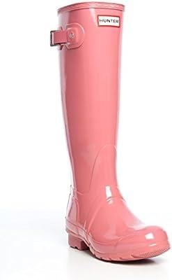 Hunter Original Tall Gloss - Bota de seguridad de goma Mujer