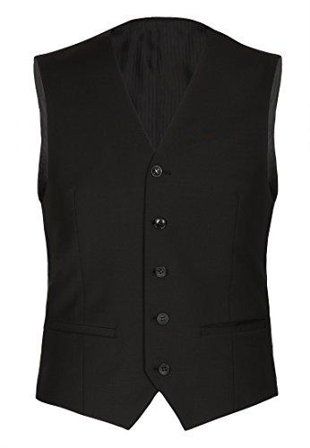 Michaelax-Fashion-Trade - Costume - Uni - Manches Longues - Homme Noir - Black - Schwarz (90)