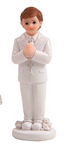 Kommunion Tortenfigur Junge 10 cm Konfirmation Deko