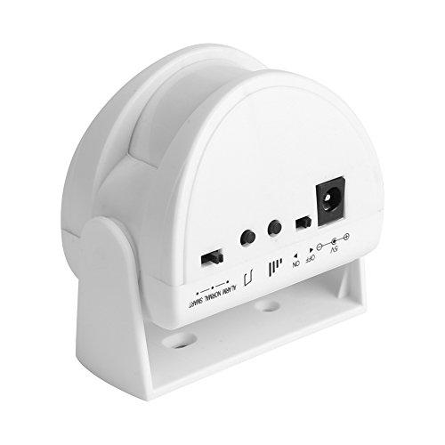 Zunate Türklingel,Wireless Bewegungsmelder Alarm Sicheres System Türklingel mit 3 Modi,für Wohnhäuser, Reihenhäuser, Wohnungen, Geschäfte, Büros, Fabriken (Alarm Wireless Bewegungsmelder)