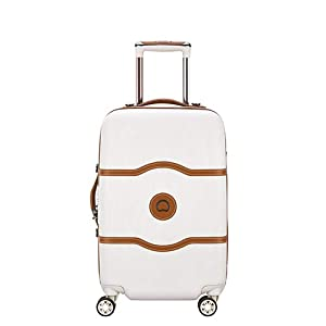DELSEY Paris Chatelet Air Maleta, 77 cm, 112 Liters, Blanco (Angora)