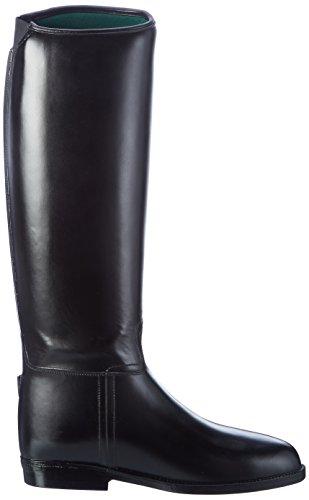 HKM Damen Reitstiefel Standard mit Elastikeinsatz schwarz