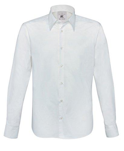 BCSM580 Hemd London / Men White