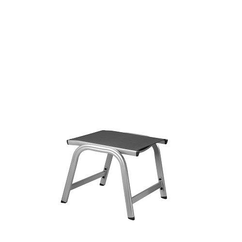 Kettler Basic Plus Advantage Gartenhocker Metall - stabiler Alu Hocker für Terrasse und B