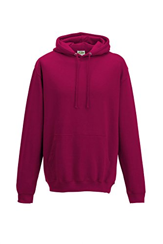 Just Hoods - Sweat-shirt à capuche -  Homme Rose - Canneberge