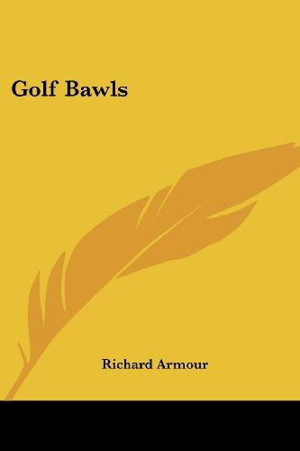 Golf Bawls por Richard Armour