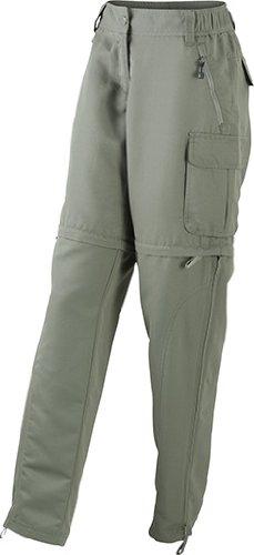 Ladies' Zip-Off Pants/James & Nicholson (JN 1029) S M L XL XXL