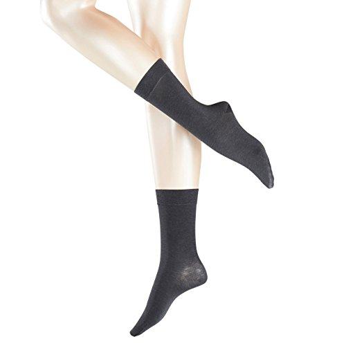 Falke Cashmere (Falke Sensual Damen Socken Cashmere 2er Pack, Größe:35-38;Farbe:Anthracite Melange (3528))