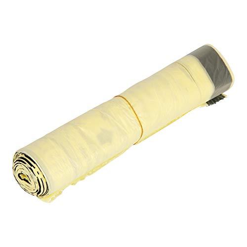 Der Gelbe Sack mit praktischem Zugband, 90l, Wertstoffsack, 50 Rollen