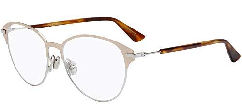 Dior DIORESSENCE14 ROSE GOLD SILVER 53/15/145 Damen Brillen -