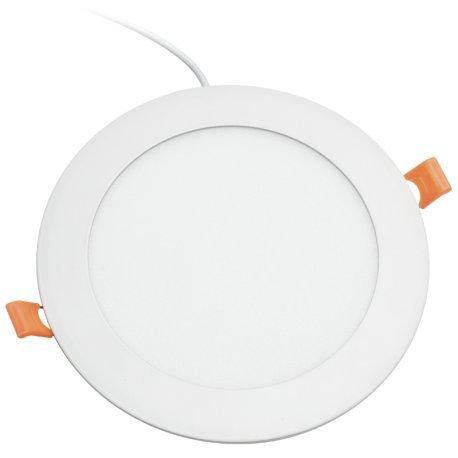 Alverlamp DL18PL60 - Downlight LED, 20W, 6000K, empotrable redondo blanco, chip Led...